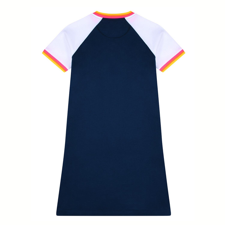 St Bert's T-Shirt Dress - Dress Blue/Optic White