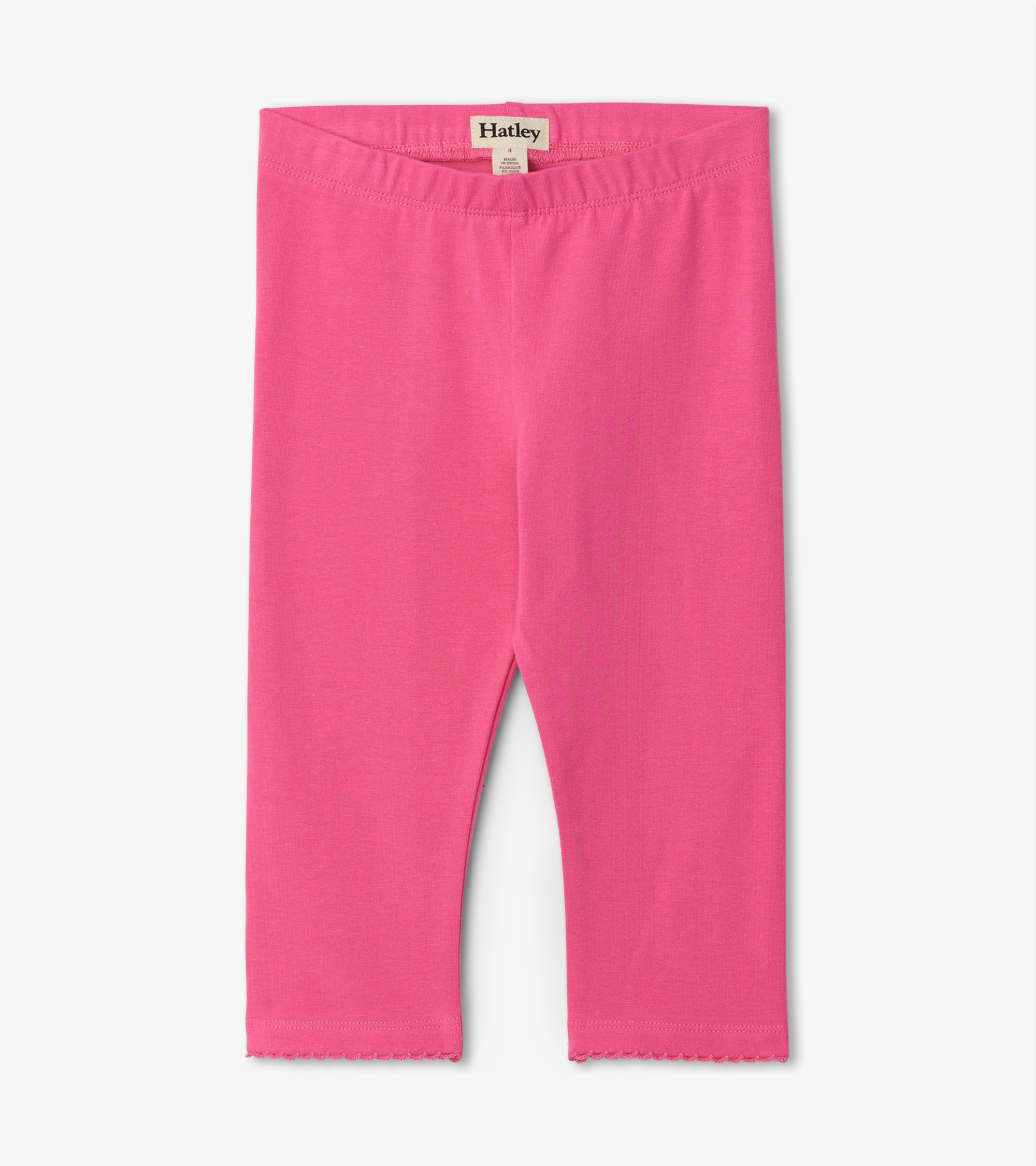 Hatley Basic Capri Leggings Pink