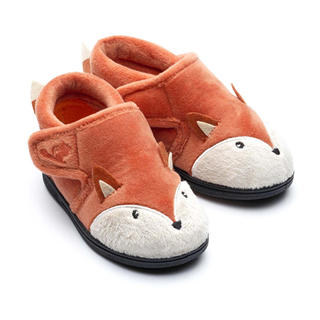Chipmunks Mr Fox Slippers