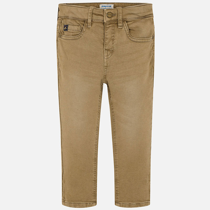 WAS £30.50 Mayoral Soft Slim Fit Chino Brown (4511)