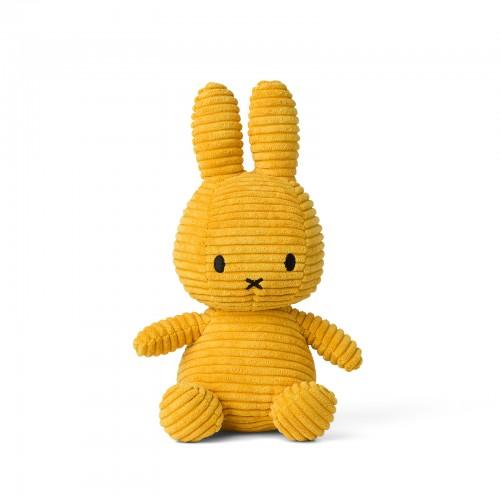 Miffy Corduroy Yellow - 24 cm - 9.5