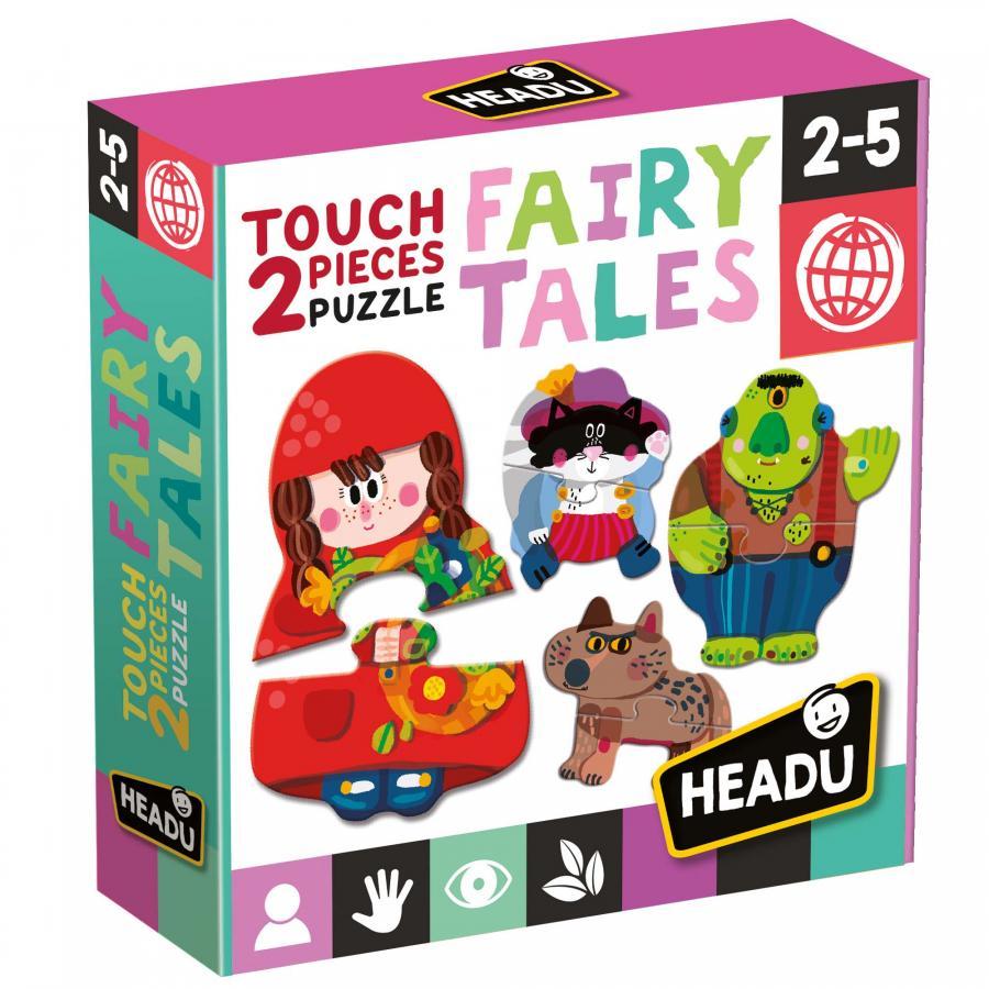 Headu 2 Pieces Puzzle Fairy Tales
