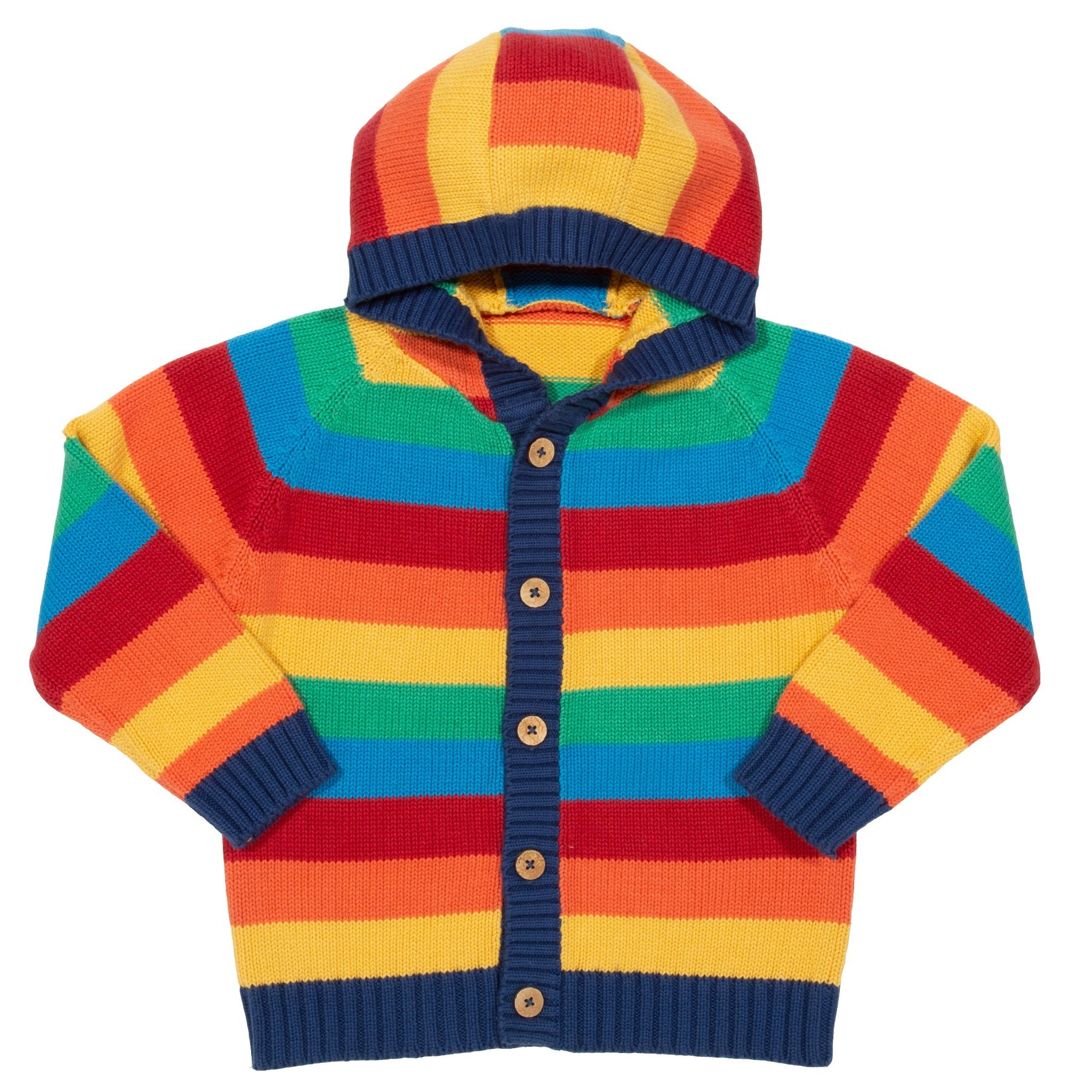 NOW £24 Kite Rainbow Knit Hoody