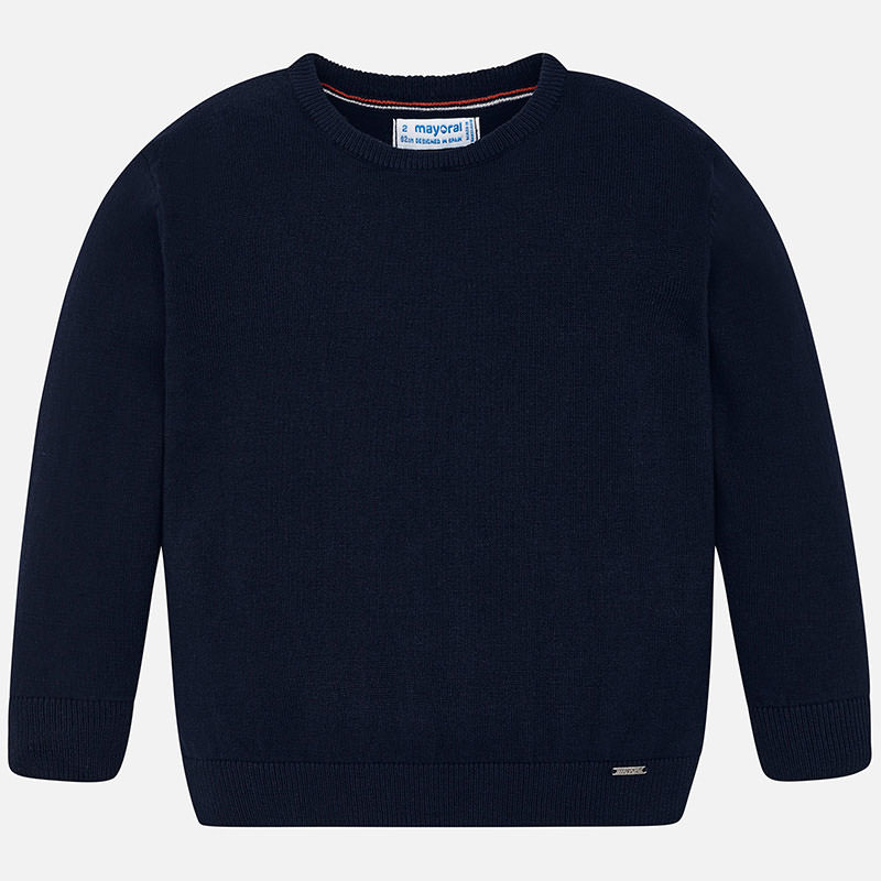 WAS £21.50 Mayoral Basic Sweater Navy (323)