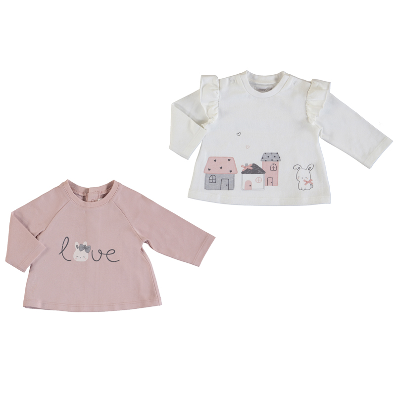 SALE £18.40 Mayoral Tops 2 pce Set Dusty Pink (2033)(was £23)