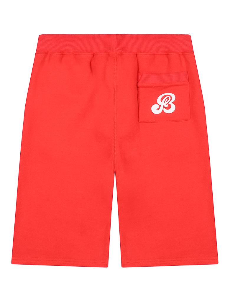 St Bert's Long Shorts - Blaze Red