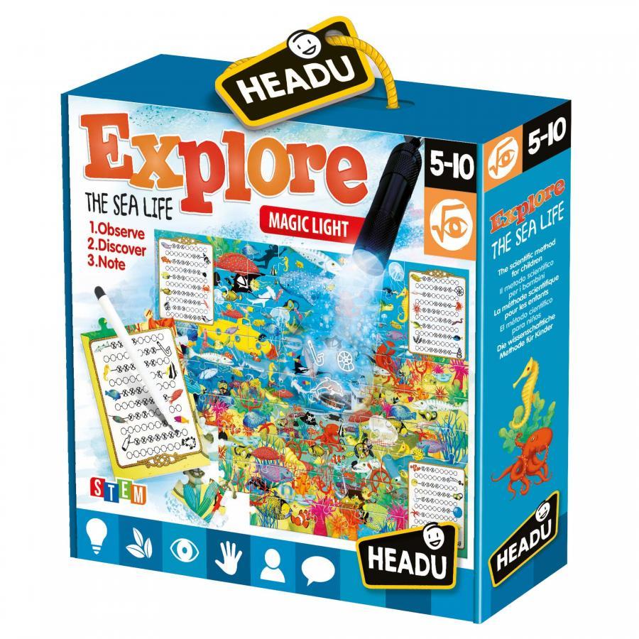 Headu Explore The Safari, Sea life or The Forest Puzzles