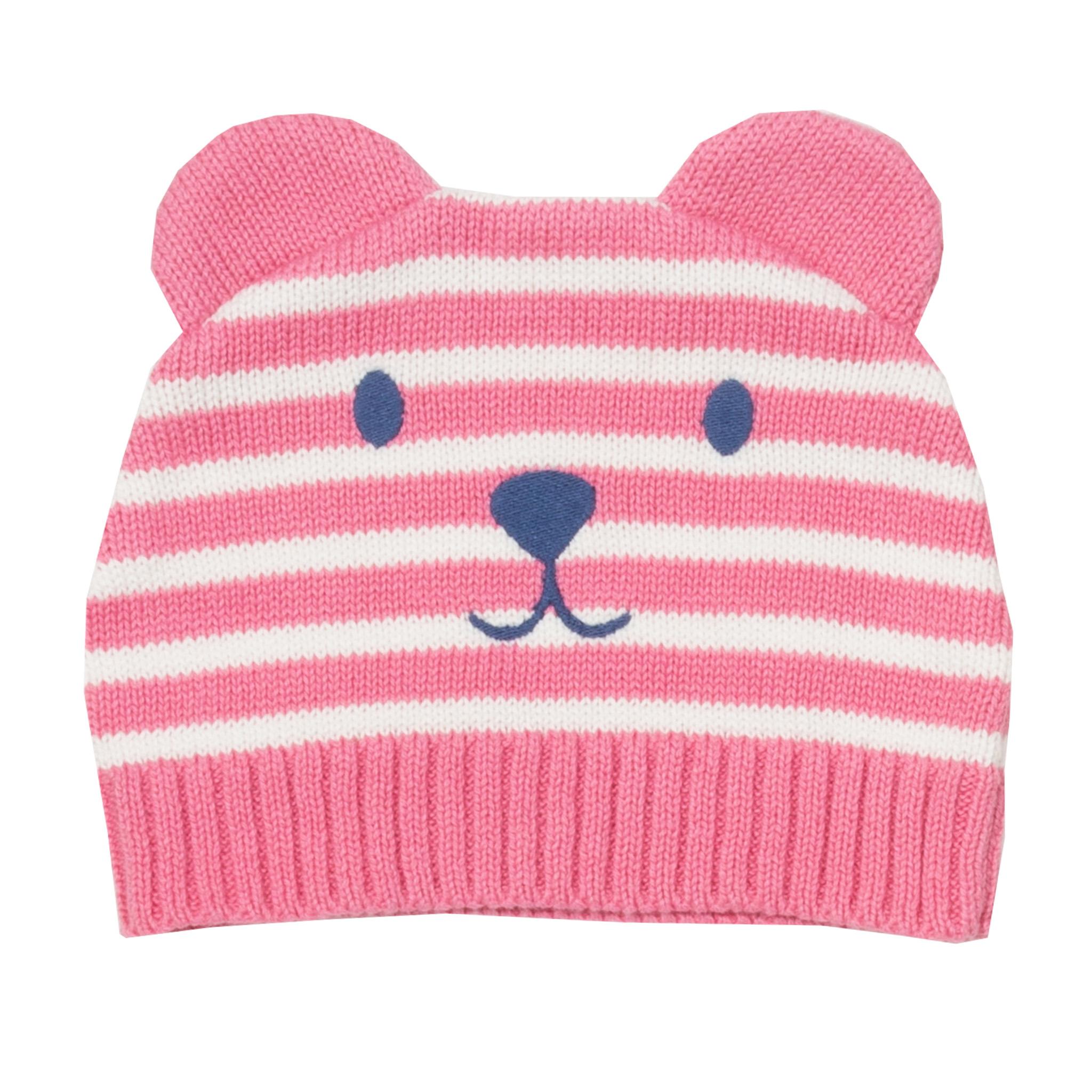 Kite Teddy Knit Hat-Rose