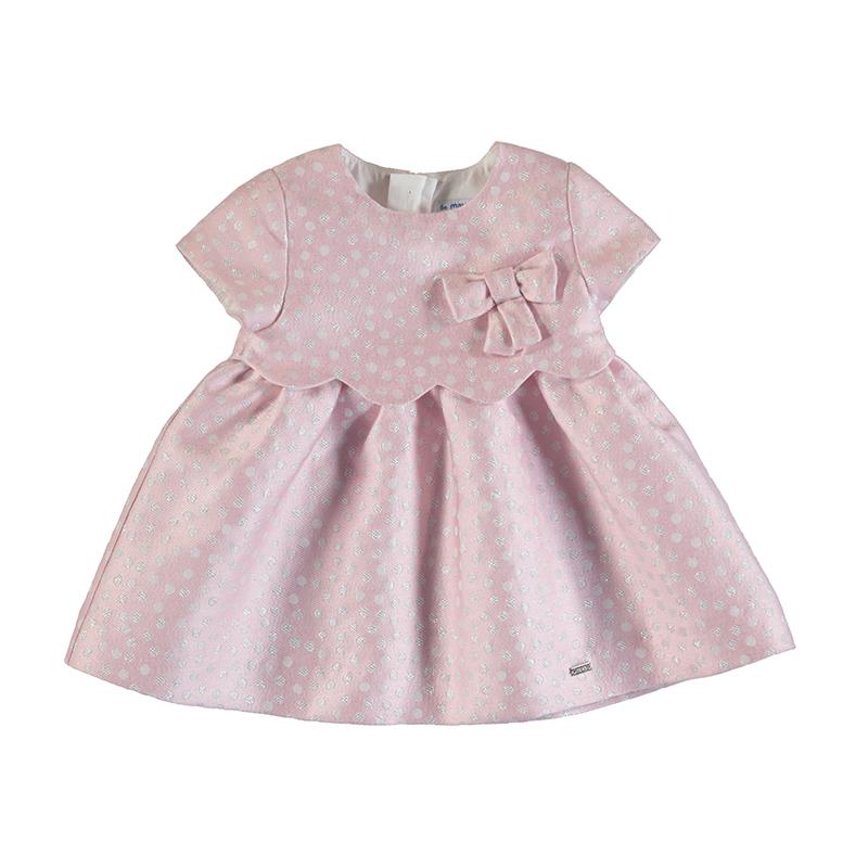 Mayoral Polka Dot Dress-Pink (2945)(was £33)