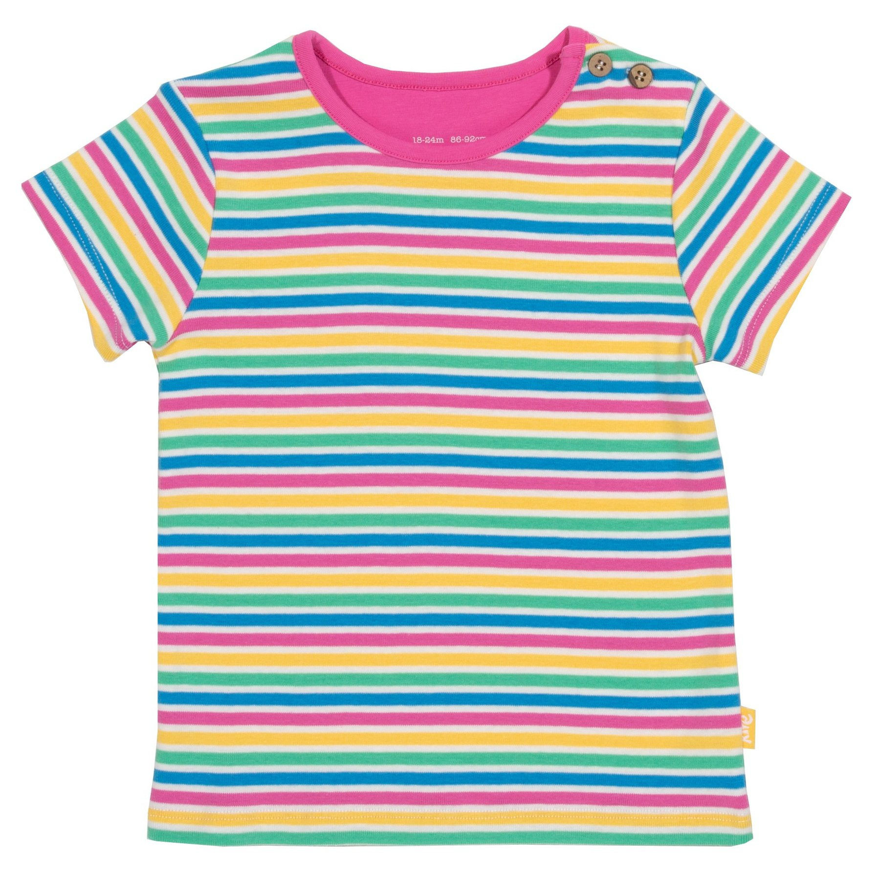 Kite Mini Bright Stripe T-Shirt