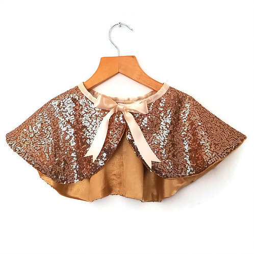 A is for Alice Sequin Cape
