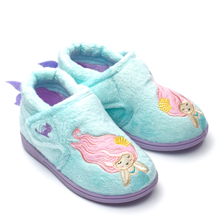 Chipmunks Maisie Mermaid Aqua Slipper