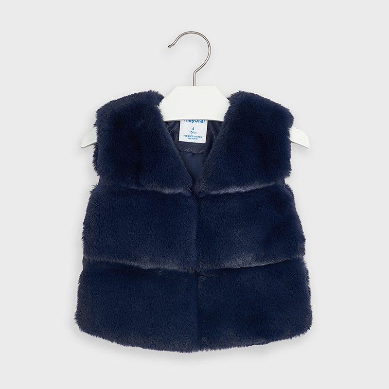 Mayoral Faux Fur Gilet (4351)