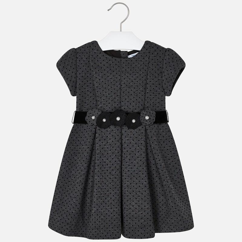 Mayoral Spot Dress Grey (4936) (Was £41)
