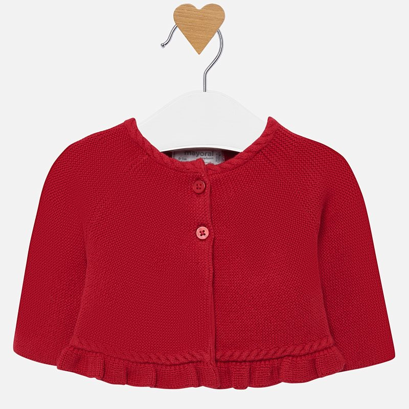 WAS £23.50 Mayoral Knit Cardigan Red (2301)