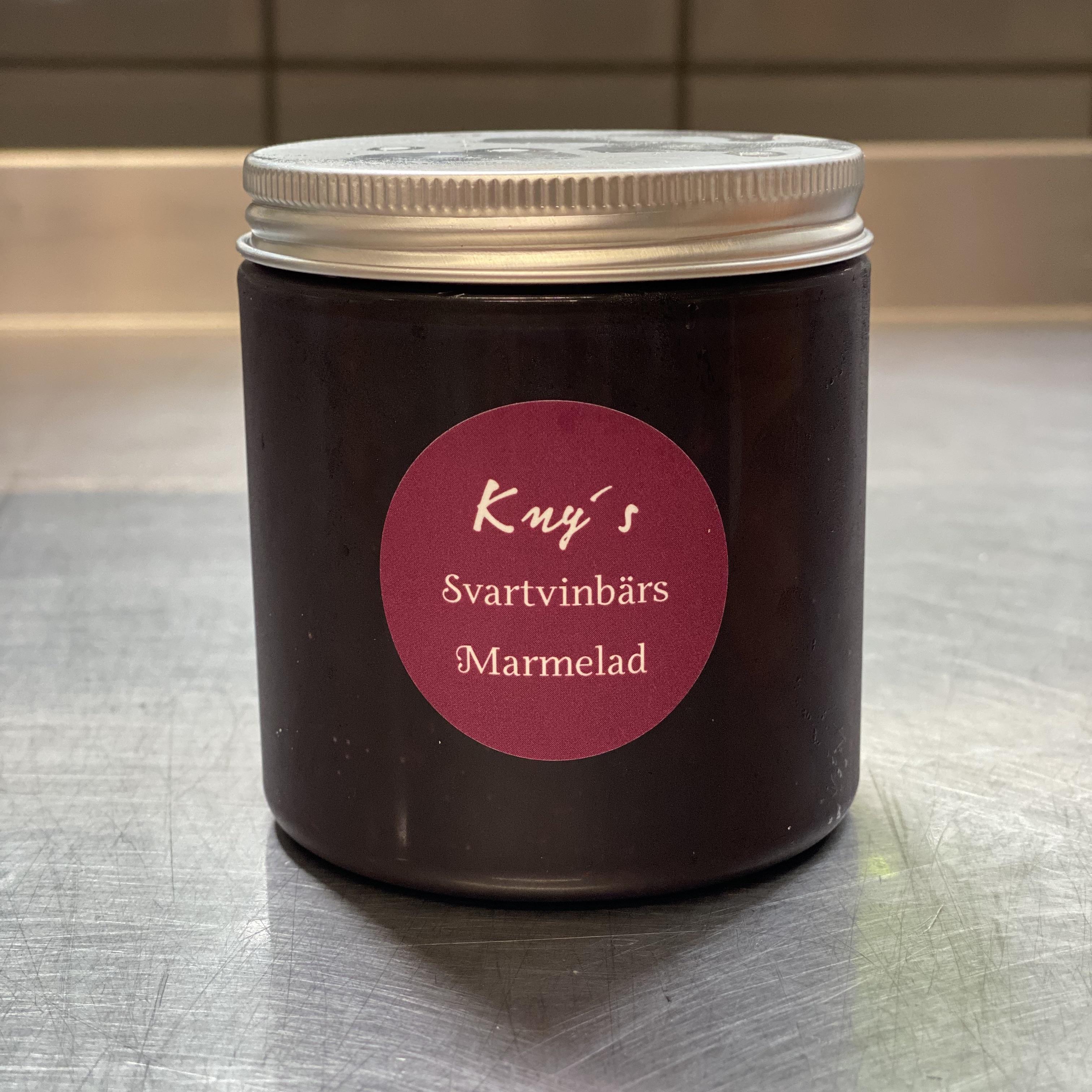 Kny Svartvinbärs Marmelad