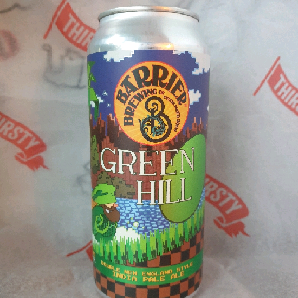 Barrier | Green Hill | New England Style DIPA 9.1% 473ml