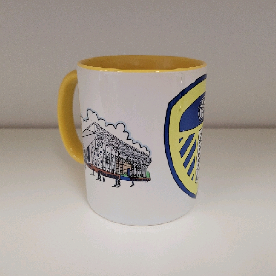 Leeds United LUFC Mug