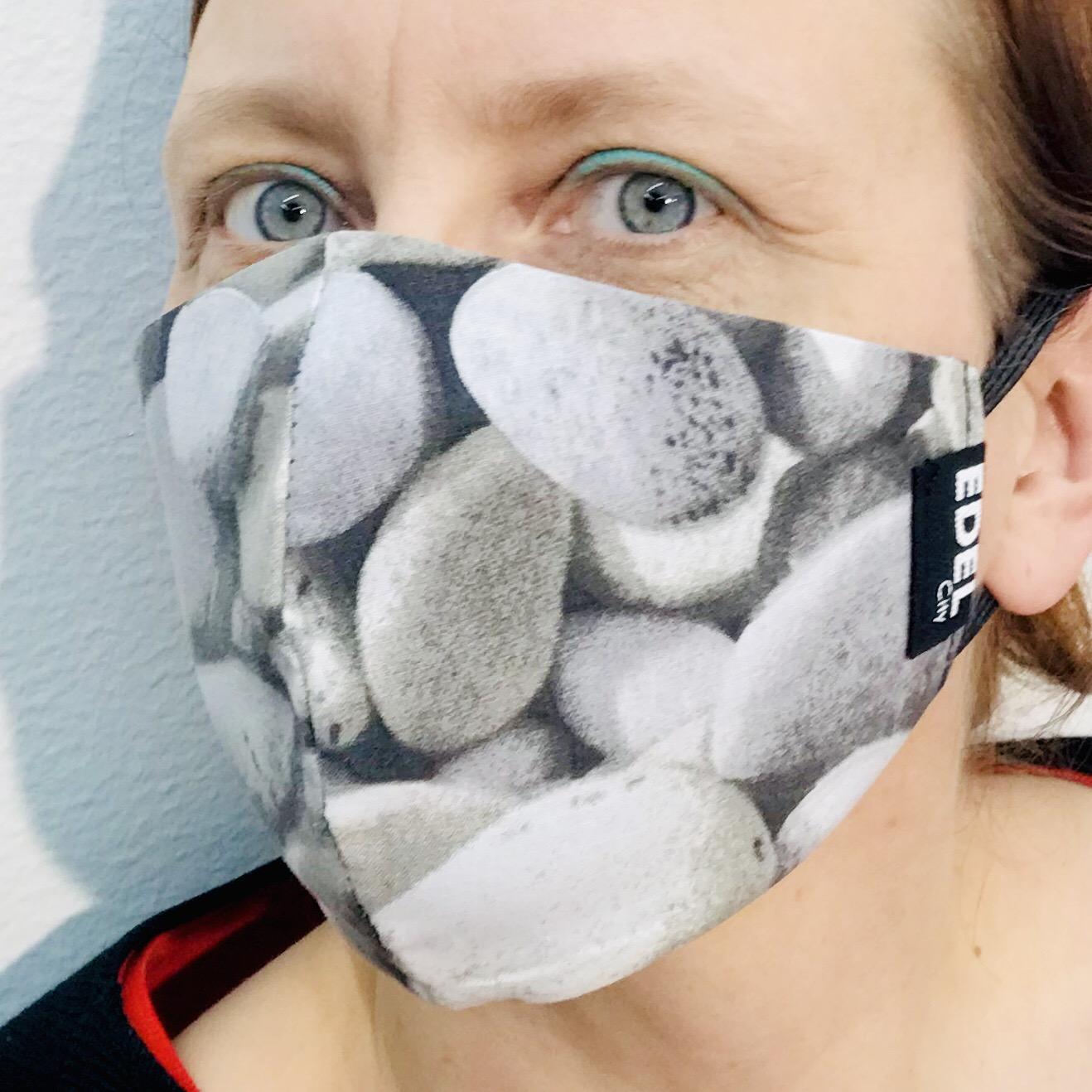Face mask stone