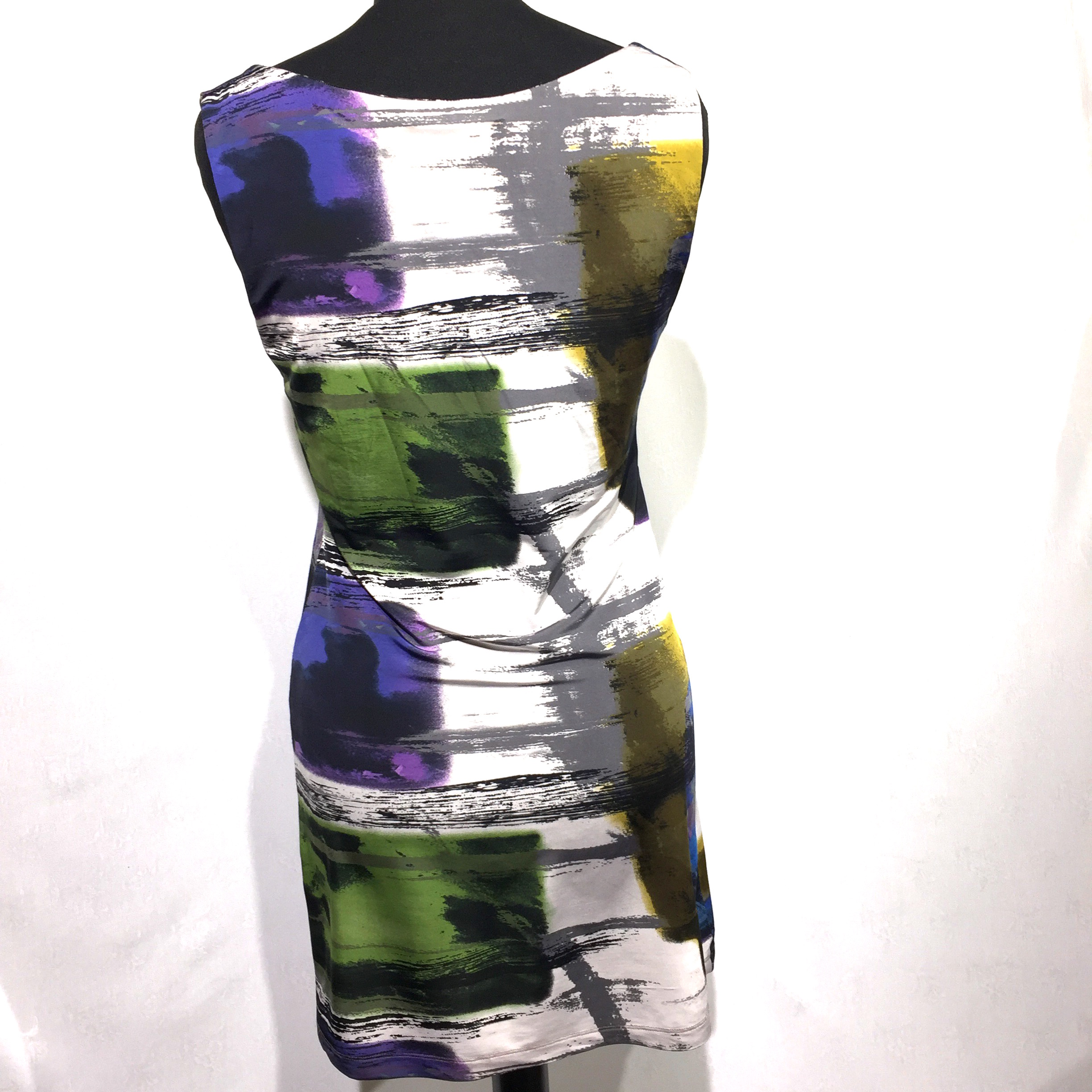 Art paint dress