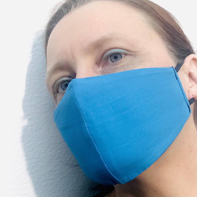 Face mask blue