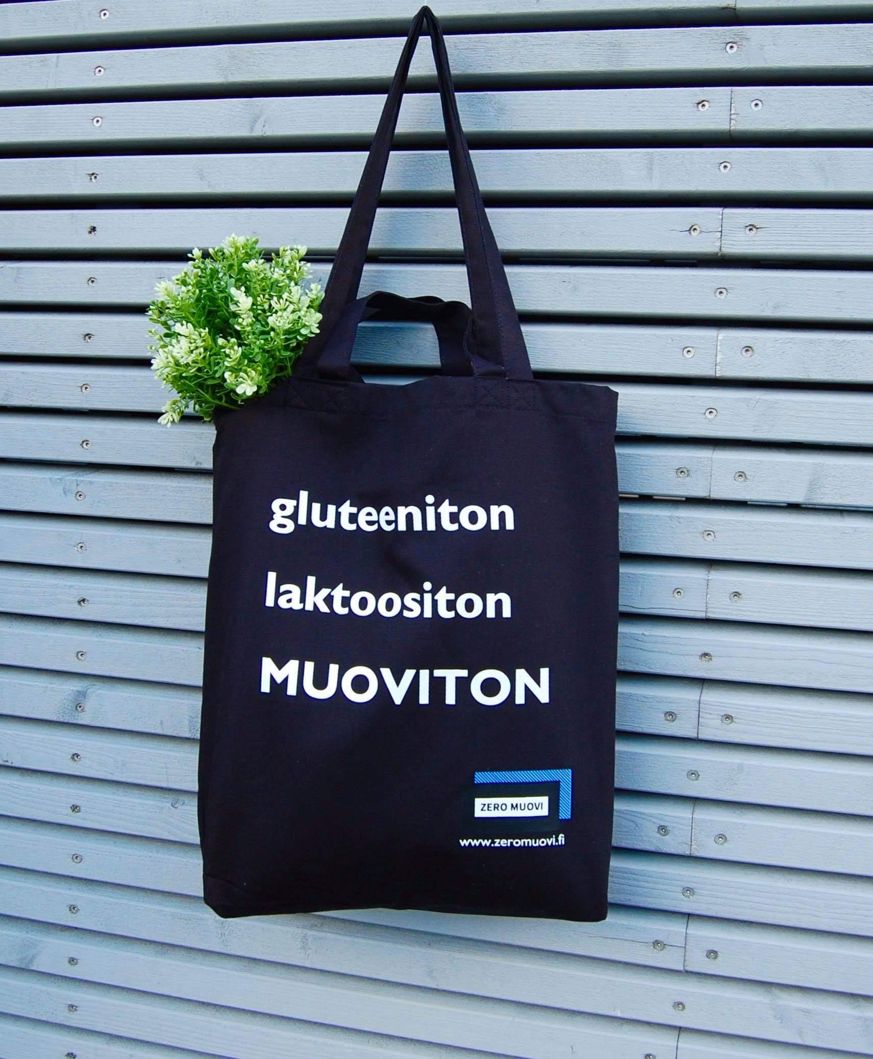 Tote Bag - gluteeniton laktoositon MUOVITON