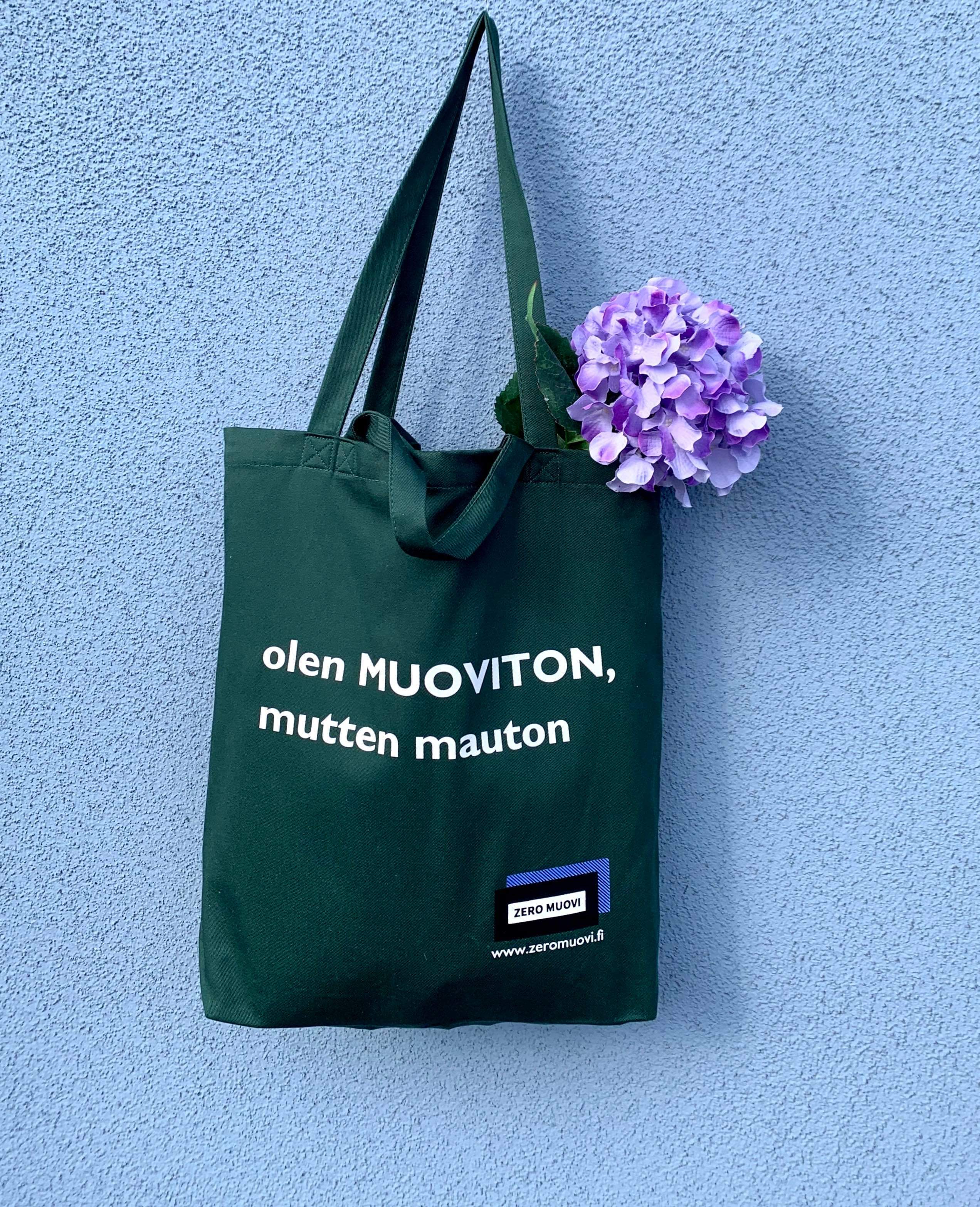 Tote Bag -olen MUOVTION muttei mauton