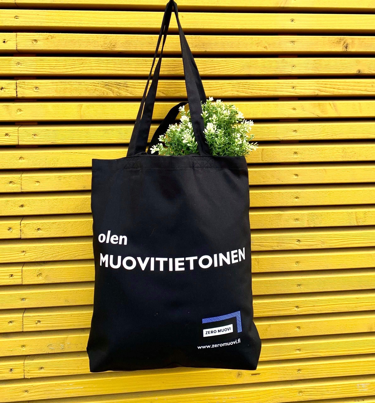 Tote Bag - olen Muovitietoinen