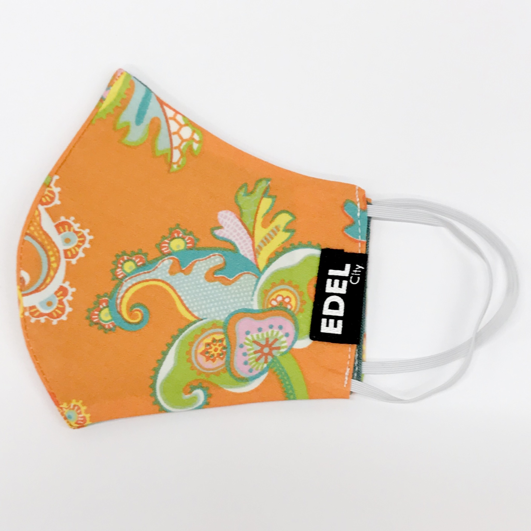 Face mask Orange Flower