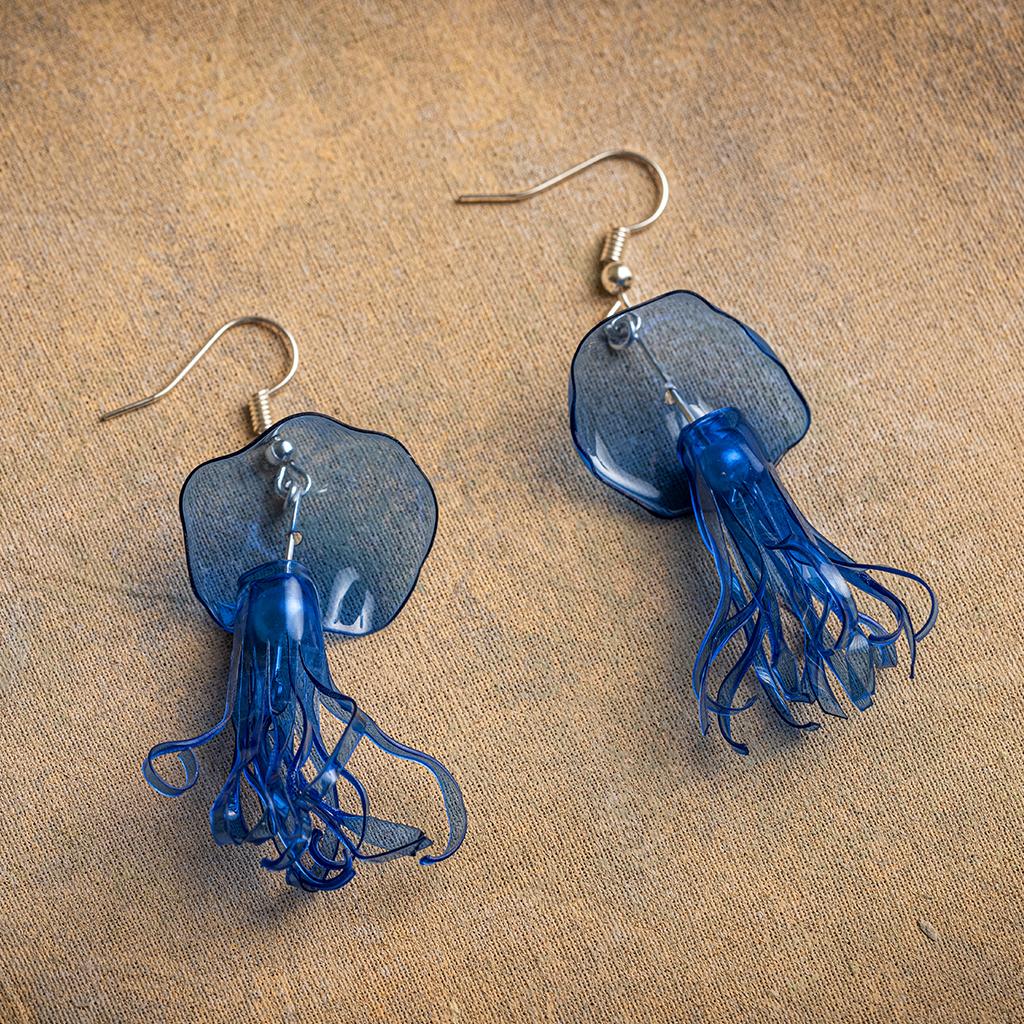 Jellyfish Drop Earrings