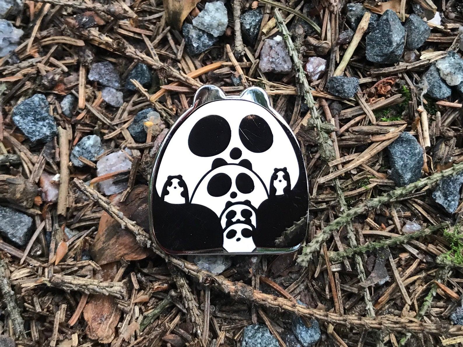 Enamel Pin Panda