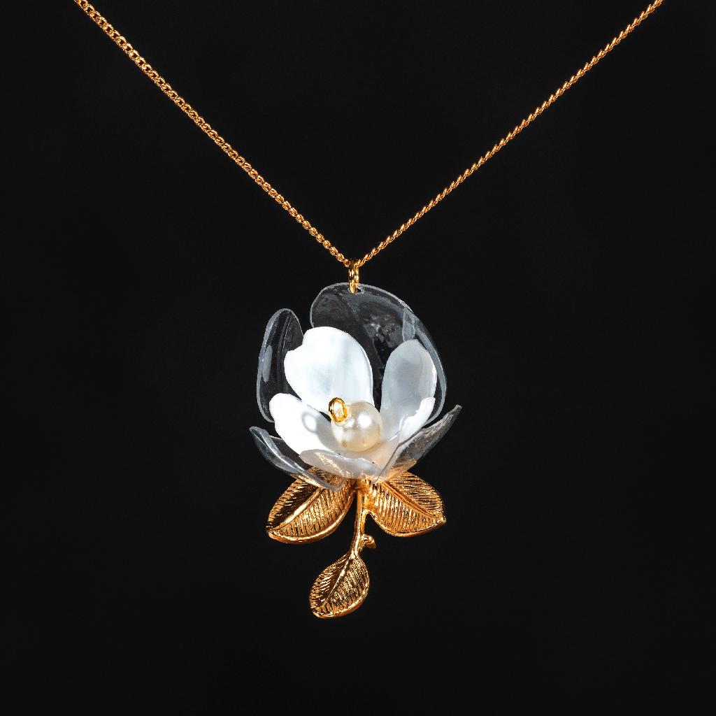 Jasmine Flower Necklace