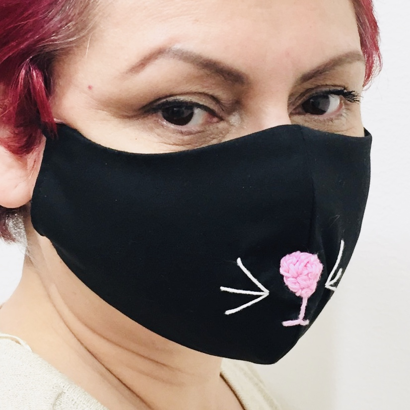 Face mask Cat nose
