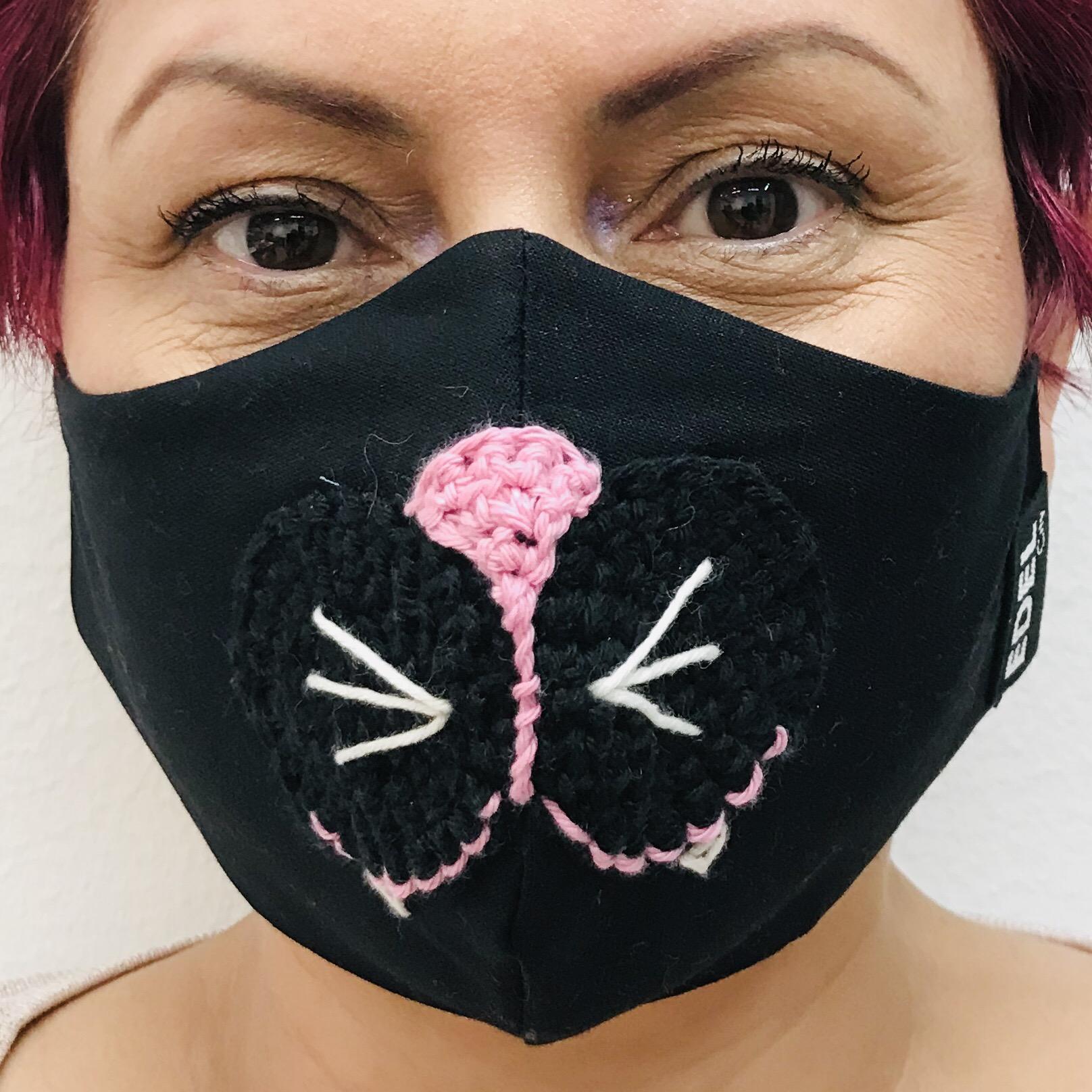 Face mask Owusu 03 Dashiki