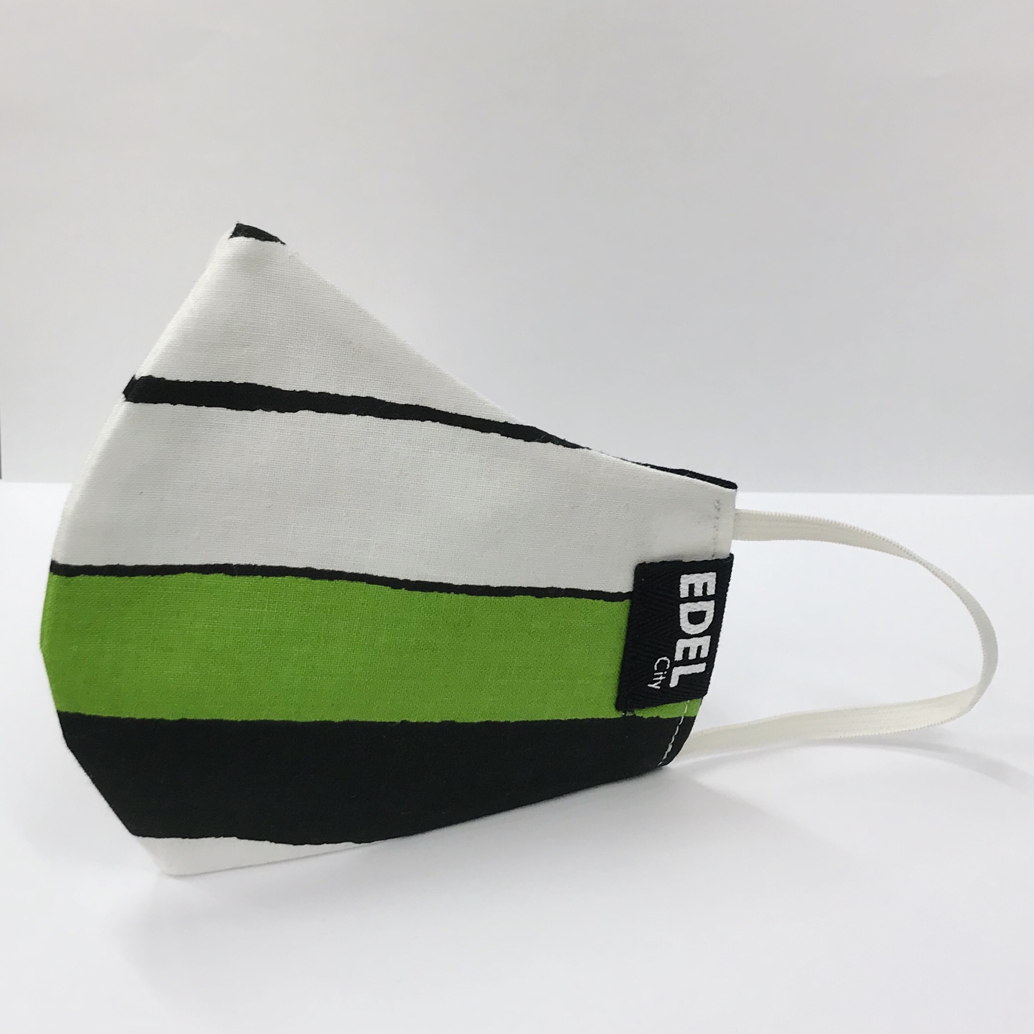 Face mask big stripe