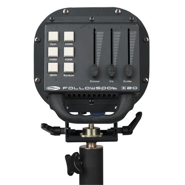 SHOWTEC FOLLOWSPOT LED 120W Follow Spots incl. Stand
