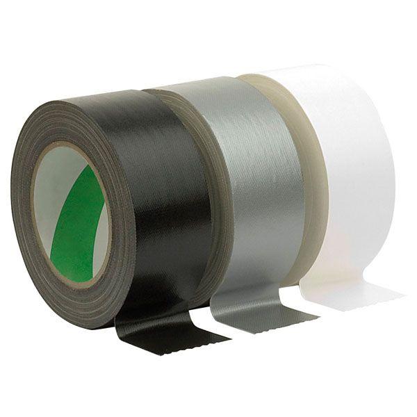 NICHIBAN GAFFA TAPE White, 50mm / 25m