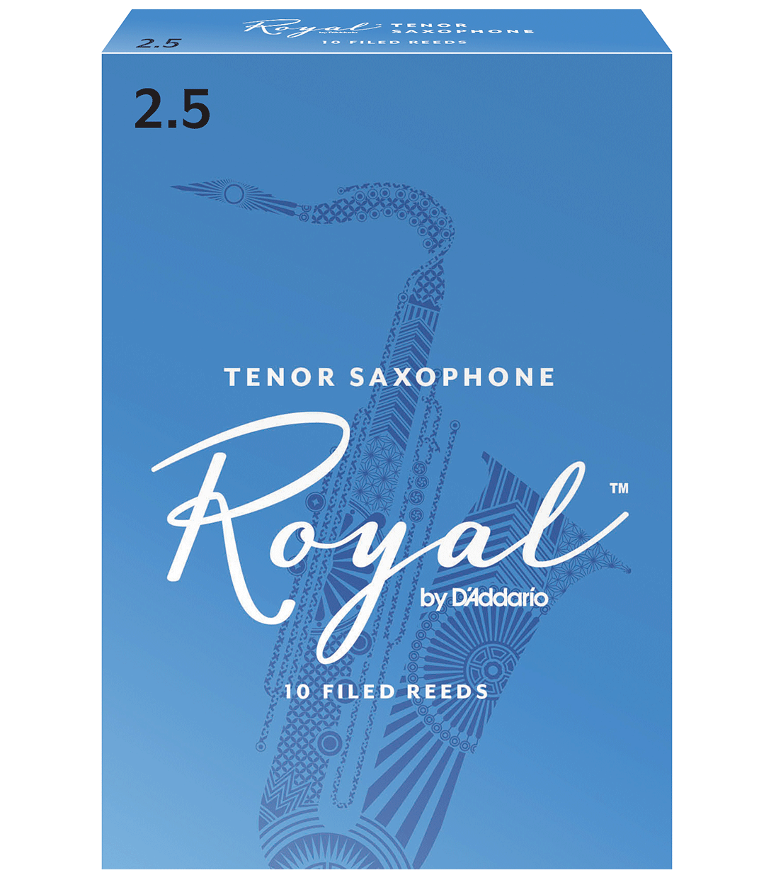 Rico Royal tenori sax lehti 2.5 RKB1025
