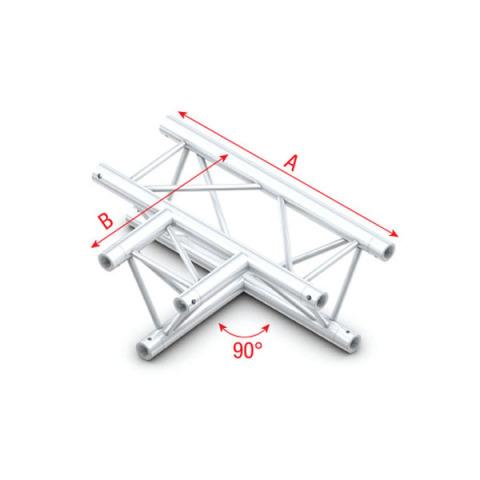 MILOS 90° 3-way horizontal Pro-30 Triangle G Truss
