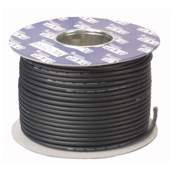 DAP DIG-110 AES-EBU Data Cables Black 110 Ohm Digital Cable, 100 m on spool