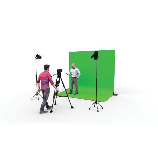 WENTEX P&D CHROMAKEY CURTAIN Pipe & Drape NEW PREMIUM 400(h) x 590(w)