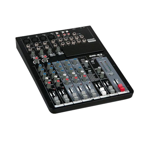 DAP GIG-83CFX Live Mixers 8 Channel live mixer incl. dynamics & DSP