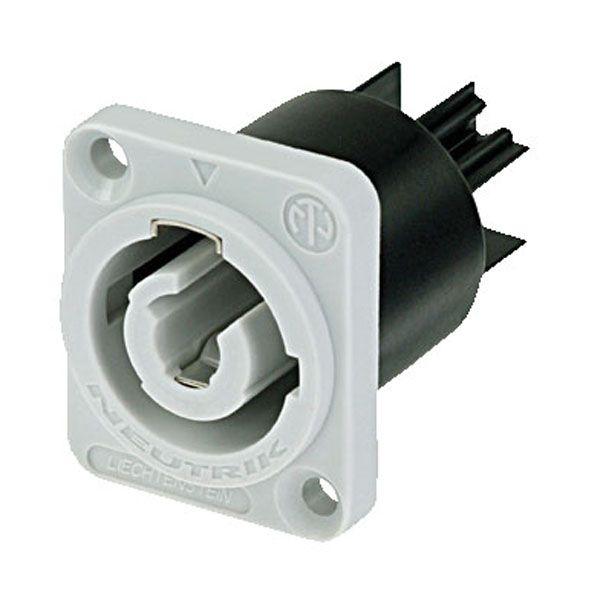 Neutrik Chassis-output Grey NAC3MPB1