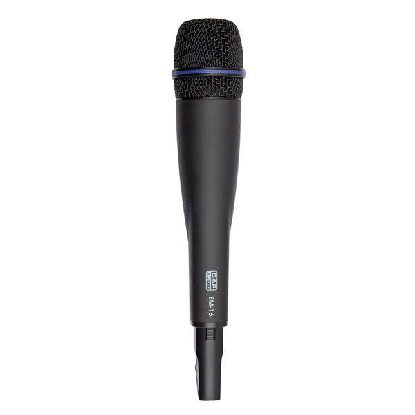 DAP EM-16 Wireless PLL handheld Microphone 16 freq. 822-846MHz
