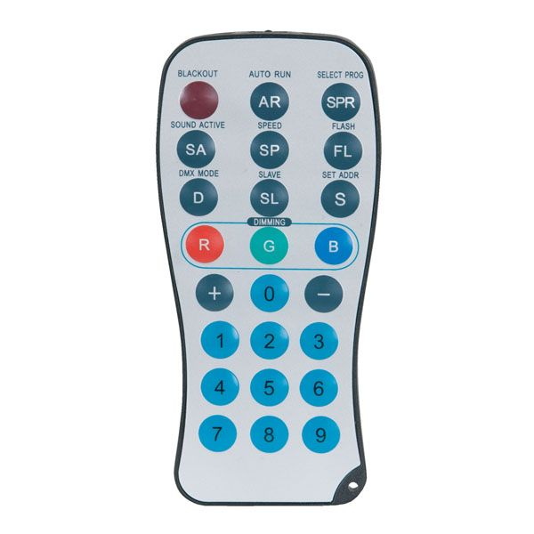 SHOWTEC INFRA RED CONTROLLER FOR CAMELEON SERIES Washers Outdoor