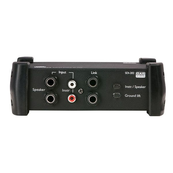 DAP SDI-202 Analogue Processing Stereo Active DI box