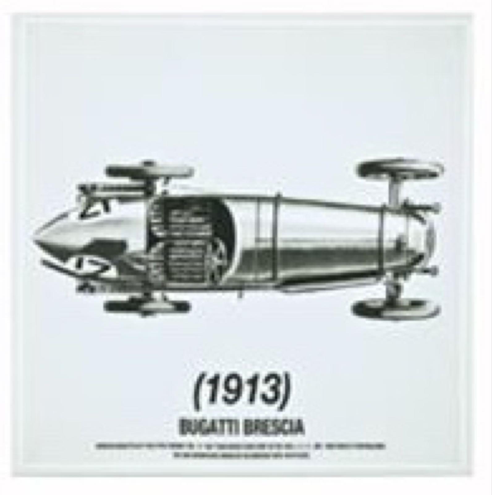 Bilde: Bugatti 17, ovenfra