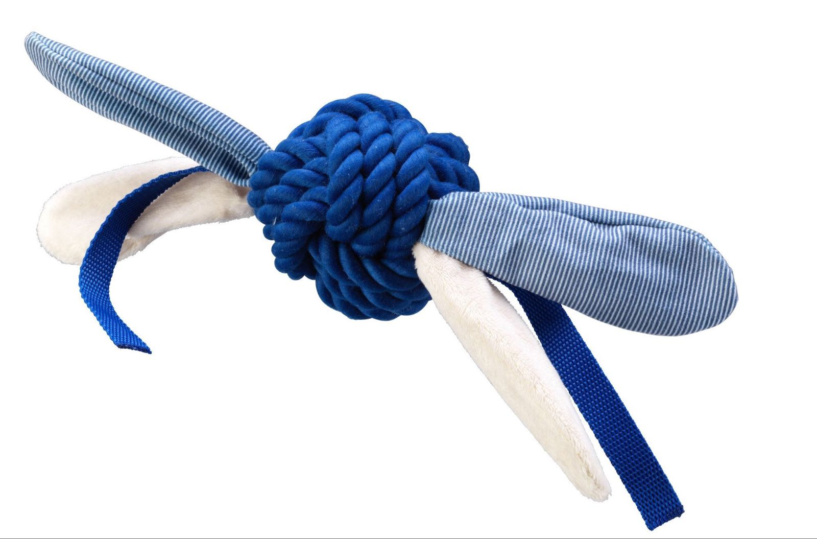 Blue rope ball