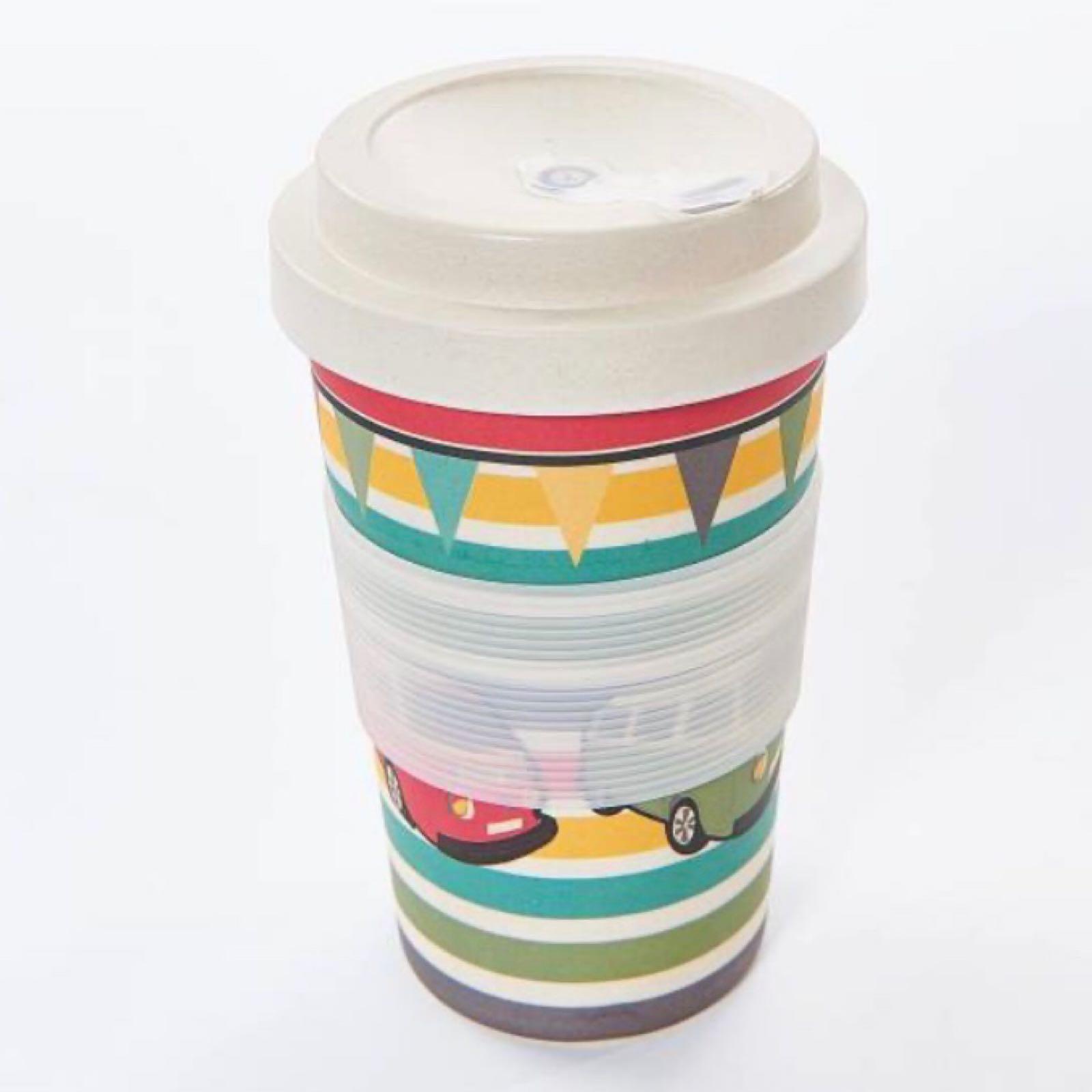 Camper Vans Reusable Bamboo Cup