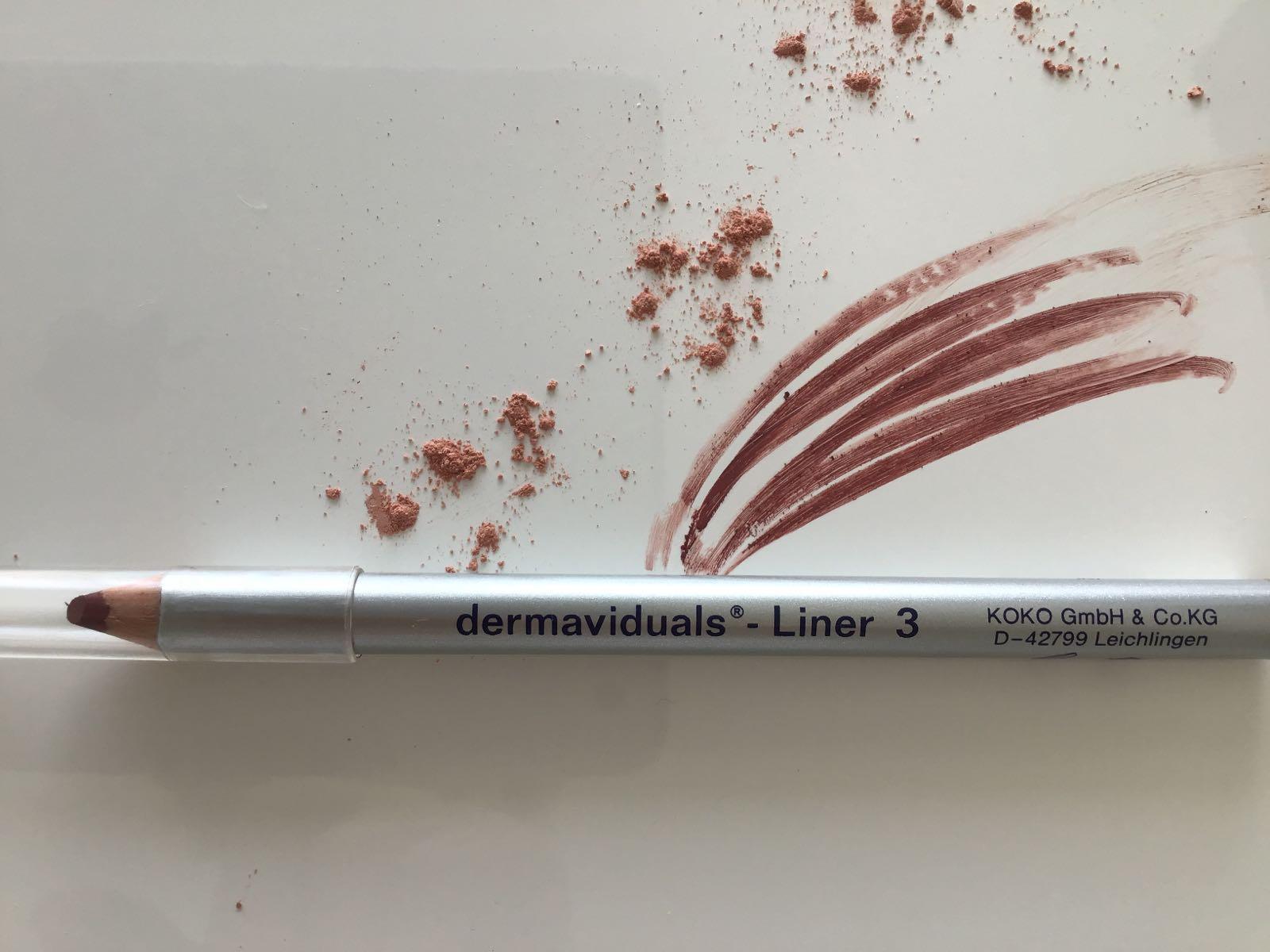 Dermaviduals Liner 3 rotbraun